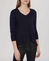 Karen Millen Sweater - Pleat Back Knit - Lyst