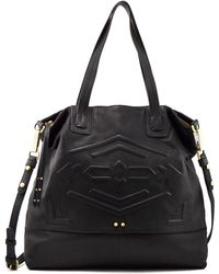 Sanctuary - Indie Black Leather Tote - Lyst