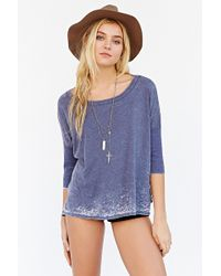 Chaser High/Low Boxy Tee - Lyst