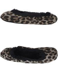Lanvin Animal Slippers - Lyst