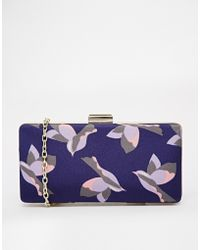 Oasis Deco Bird Box Clutch - Lyst