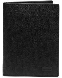 Michael Kors Jet Set Logo Passport Wallet - Lyst