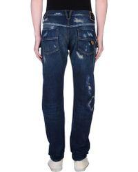 HTC Denim Trousers - Blue