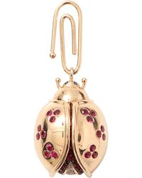 Aurelie Bidermann | Ruby Lady Bird Pendant | Lyst