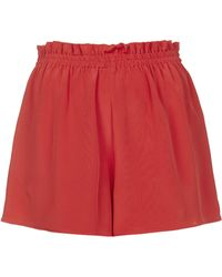 Topshop Silk Pull On Shorts - Lyst