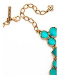 Oscar de la Renta - Carved Resin Necklace - Lyst