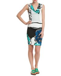 Tracy Reese Combo T Dress - Lyst