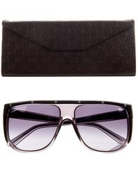 Gucci Studded Aviator-Style Sunglasses - Lyst
