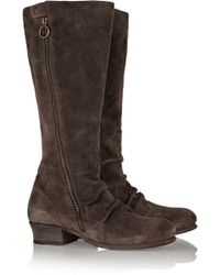 Fiorentini + Baker Madly Suede Knee Boots - Lyst
