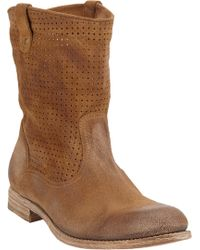 NDC Perforated Tifany Ankle Boots - Lyst