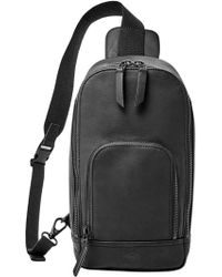 Fossil - 'miller' Leather Sling Pack - Lyst