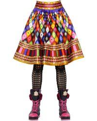 Manish Arora Embellished A-line Skirt - Multicolour