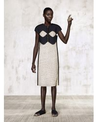 Dzhus Cotton Corsage Knit Dress - Lyst