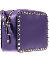 Valentino Handbag Woman purple - Lyst