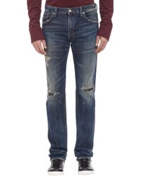 Citizens of Humanity Distressed Core Slim Jeans - Lyst