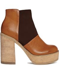 Asos Estate Ankle Boots - Lyst