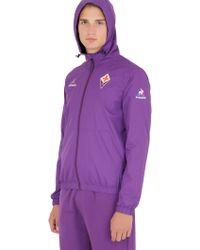 Le Coq Sportif - Official Acf Fiorentina Windbreaker - Lyst