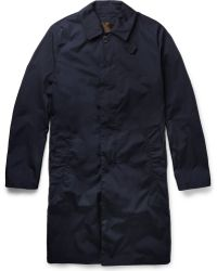 Mackintosh Dunkeld Handmade Bonded-Cotton Rain Coat - Lyst
