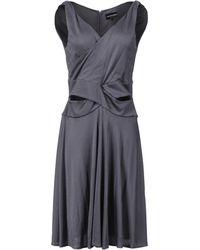 Emporio Armani Knee-Length Dress - Lyst