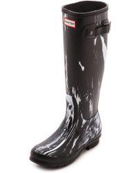 Hunter Original Nightfall Tall Boots  - Lyst
