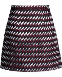 Christopher Kane Mini Skirt black - Lyst