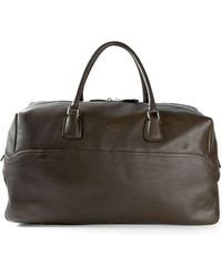 Canali Classic Holdall - Brown