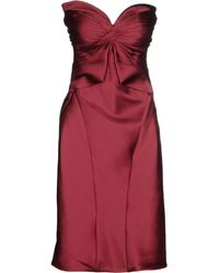 Zac Posen - Knee-length Dress - Lyst