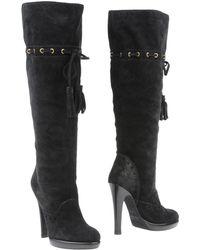 Yves Saint Laurent Rive Gauche Boots - Lyst
