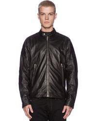 Diesel Black Monike Jacket - Lyst