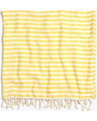 Madewell Turkish-T&Reg; Beach Candy Towel yellow - Lyst