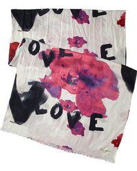 Kate Spade Love Flower Scarf - Lyst