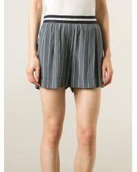 Mauro Grifoni - Pinstripe Shorts - Lyst