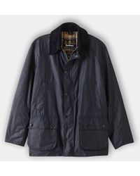 Barbour Ashby Waxed Cotton Jacket - Lyst
