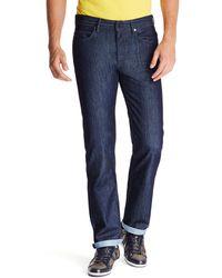 Boss Green Deam 30 Regular Fit Cotton Blend Jeans - Lyst