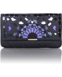 Matthew Williamson | Beau Purple Embellished Clutch Bag | Lyst