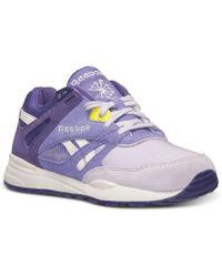 Reebok Women'S Ventilator Casual Sneakers From Finish Line - Lyst