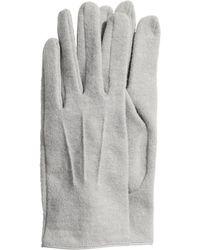 H&M - Gloves In A Wool Blend - Lyst