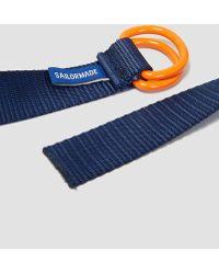 Sailormade - Blue Webbing D-ring Belt Blue - Lyst