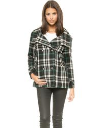 Lovers + Friends Lovers  Friends Without You Coat  Plaid - Lyst