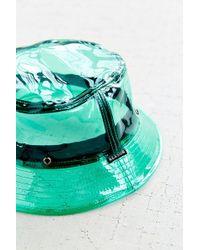 Reason - X Uo Clear Rain Bucket Hat - Lyst