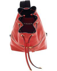 Marni Mini Leather Backpack - Lyst