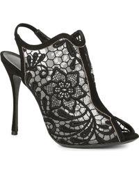 Nicholas Kirkwood Andie Lace Ankle Boots - Lyst