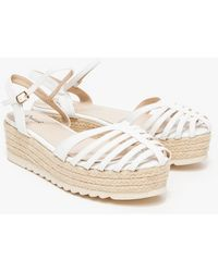 Need Supply Co. Dillon Espadrille In Ivory - Lyst