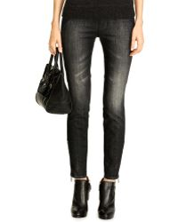 Ralph Lauren Black Label Stretch 400 Ankle Jean - Lyst