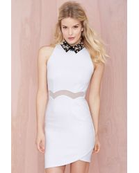 Nasty Gal Three Floor Be Jeweled Dress - Lyst