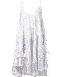Stella McCartney Flared Dress - Lyst
