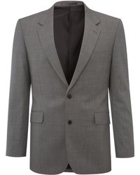 New & Lingwood - Wallingford Micro Texture Suit Jacket - Lyst