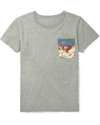 Visvim Cotton T-Shirt - Lyst