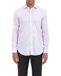 Etro Check Shirt - Lyst