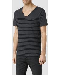 AllSaints Toko Tonic Scoop T-Shirt - Lyst